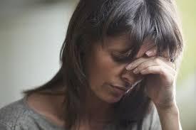 sleepless and depressed